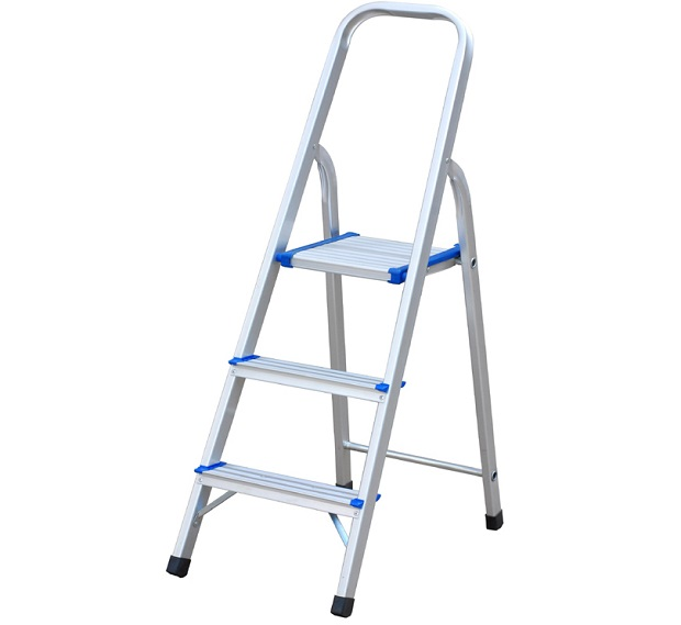 2 step aluminium ladder