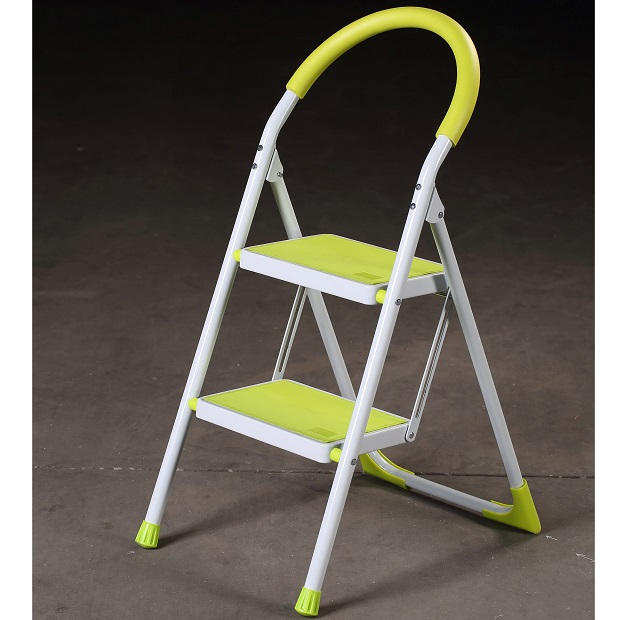 2 Step steel household ladder