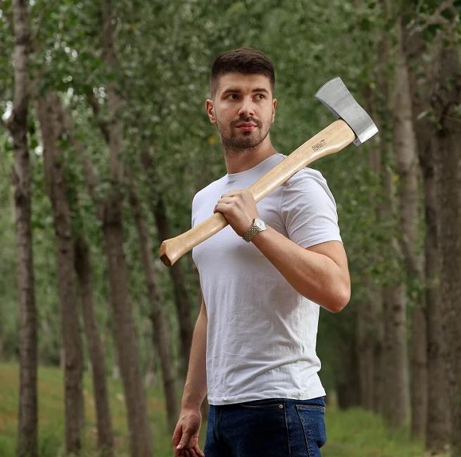 A601 series felling wood handle axe
