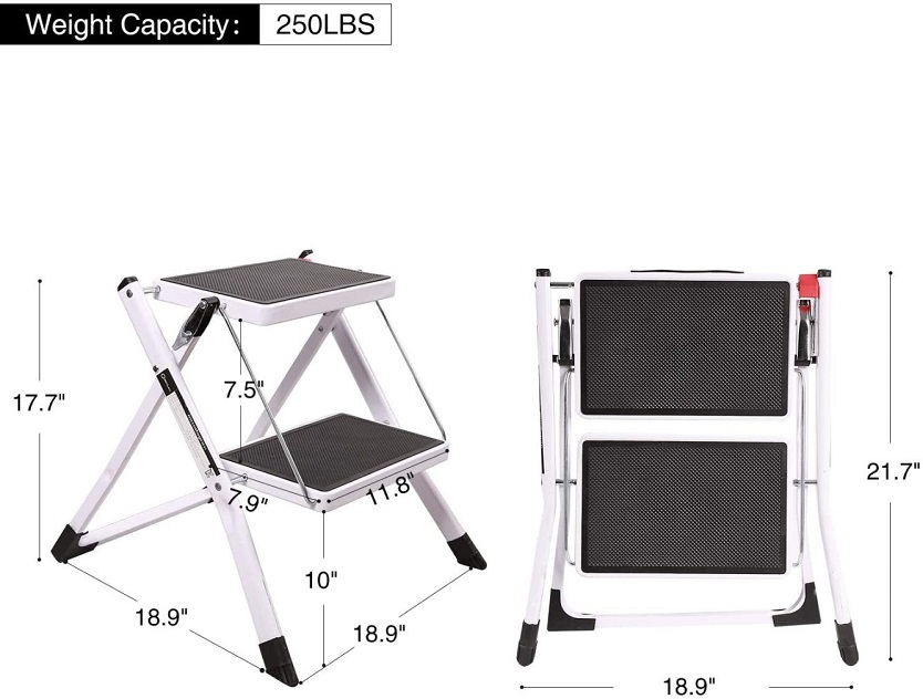 2 Step Small Step Ladder