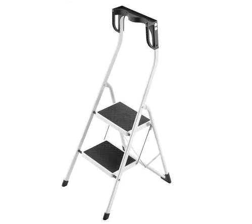 Stool Ladder With High Handrail